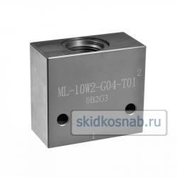 Корпус картриджного клапана ML-10W2-G04-S01 фото 1