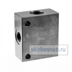 Корпус картриджного клапана ML-11A3-G03AG-S02 фото 1