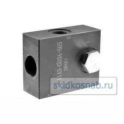 Корпус картриджного клапана ML-11A3-G03A-S05 фото 1