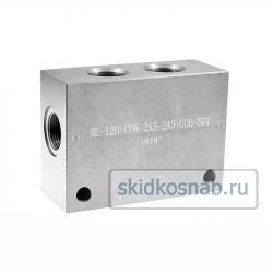 Корпус картриджного клапана ML-120-CDW-2A3-2A3-G06-S01 фото 1