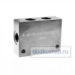 Корпус картриджного клапана ML-60-CDW-11A3-11A3-G04-S01 фото 1